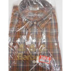Barbour-Autumn Shirt Plain Olive - 16