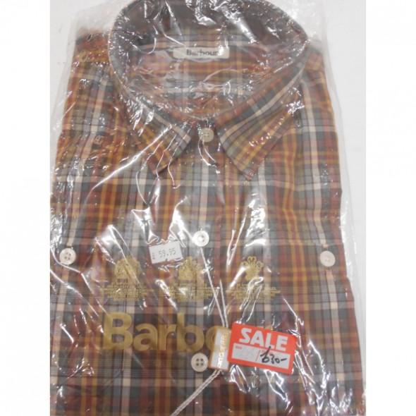 Barbour Autumn Shirt Plain Olive - 16