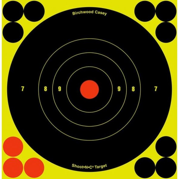 NEW Birchwood casey: Shoot NC reactive targets 6