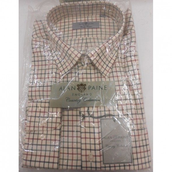 NEW Alan Paine: Ikley Shirt Country Check 2