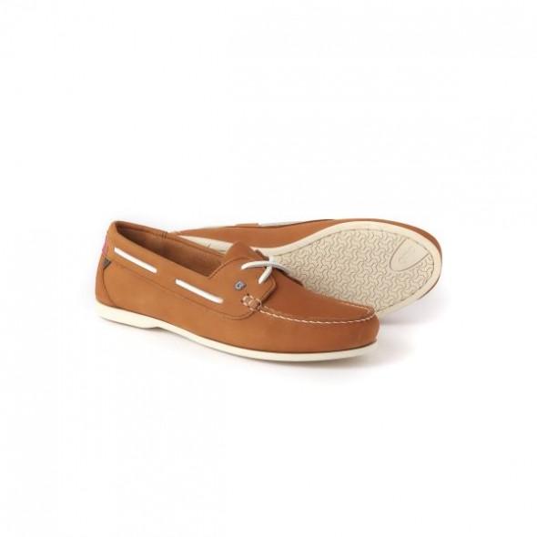 Dubarry Aruba deck shoe - Caramel