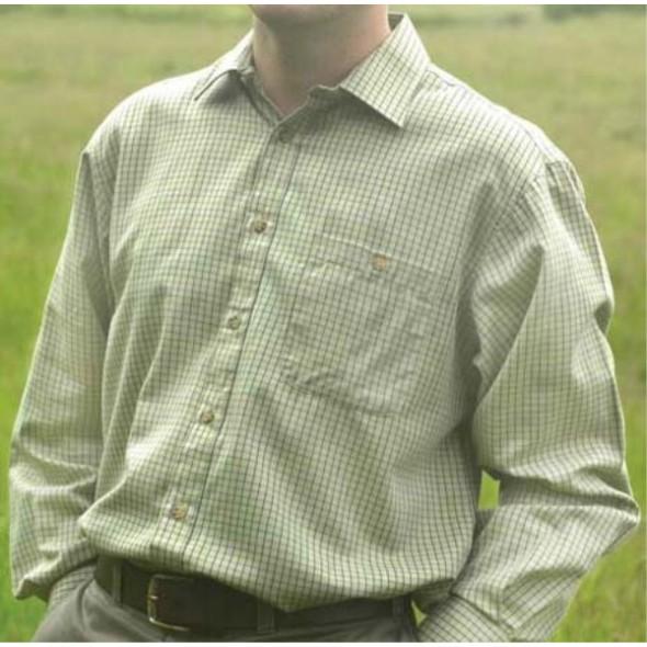 NEW Bonart: Aylesbury Shirt Beige Check
