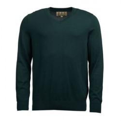 Barbour-Alfreton V Neck jumper - Green