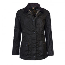 Barbour-Beadnell Classic wax jacket - Olive green