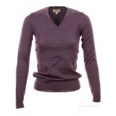 c426f513c90 NEW Barbour Classic V Neck Purple marl