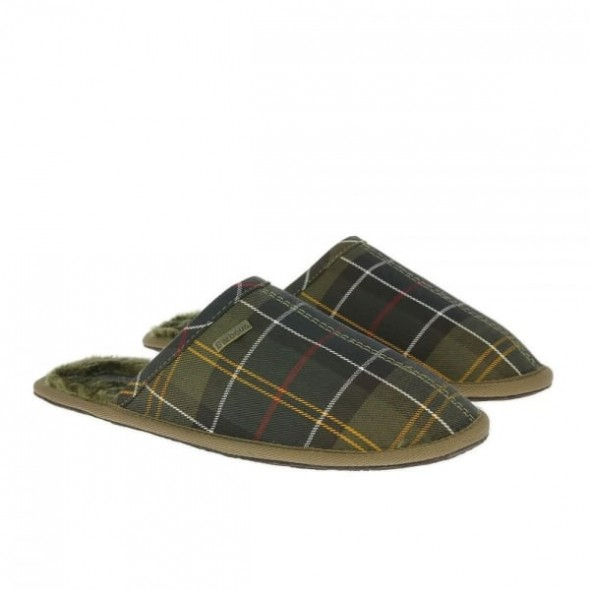 Barbour Leigh Green tartan