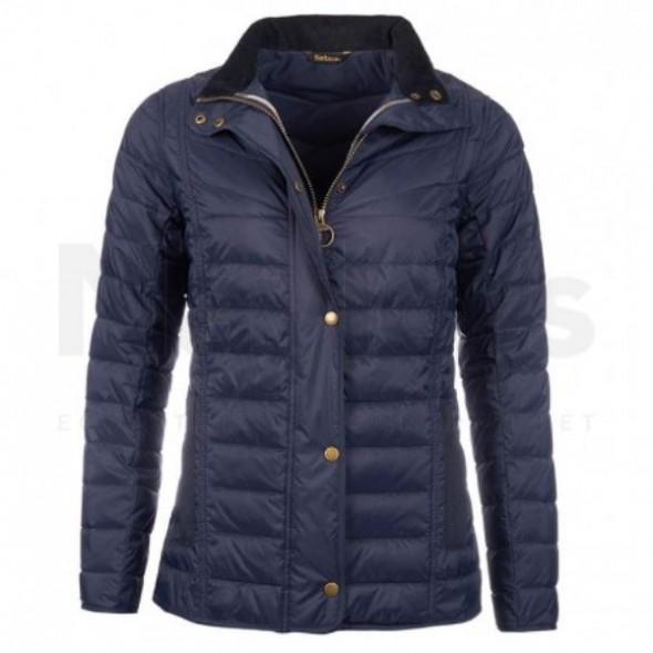 Barbour-Parceval quilt jacket navy