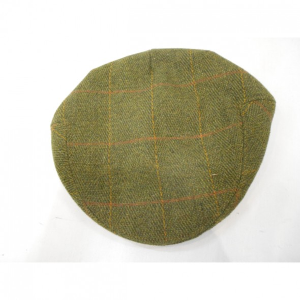 NEW Beaver: Childrens Tweed Cap -One size elastic back