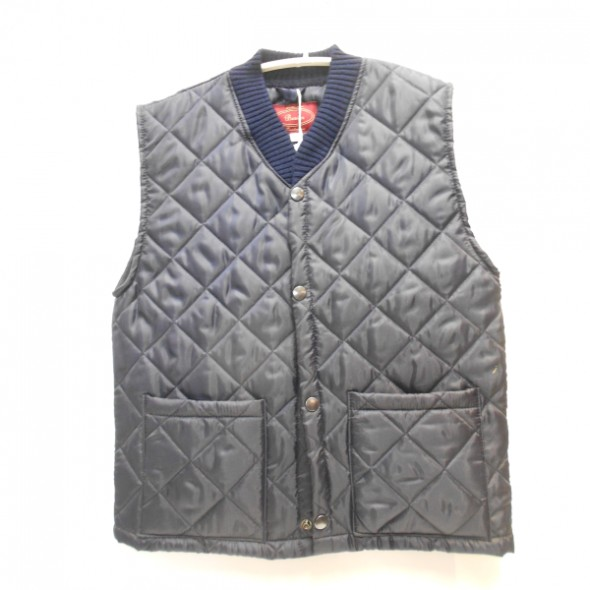 NEW Beaver: Kids Quilted nylon Gilet Navy