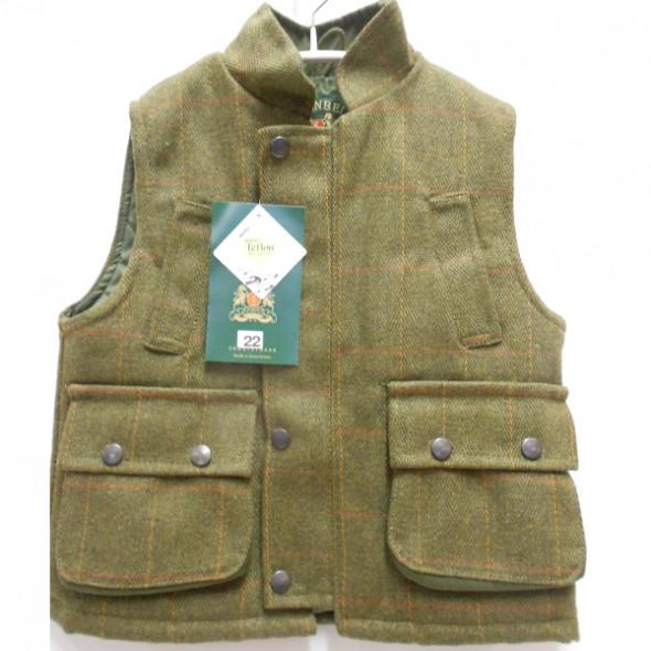NEW Beaver: Kids Tweed waistcoat