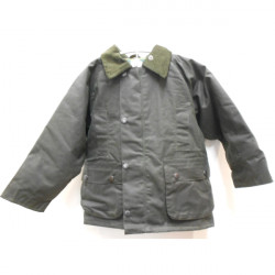 Beaver-Wax jacket green