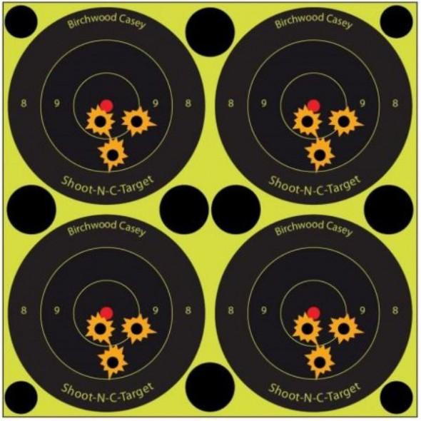 NEW Birchwood casey: Shoot NC reactive targets 3