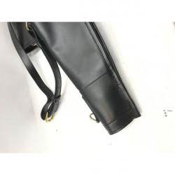 MISC-Leather shotgun slip Black - 51