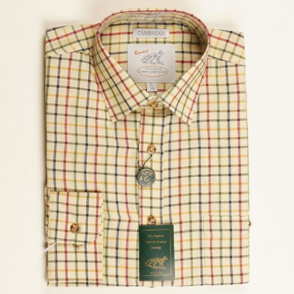 NEW Bonart: Children's Cambridge Shirt Green