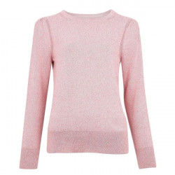 Barbour-Bowland Knit Dusty Rose