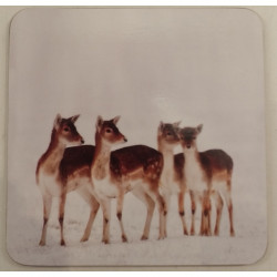 Country Matters-Coaster Christmas Fallow