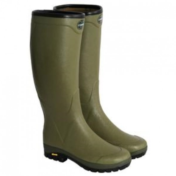 NEW Le Chameau Country Vibram Green