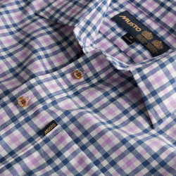 Musto-Classic Twill Shirt - Han Blue