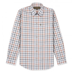 Musto-Classic Twill shirt - Reid clay