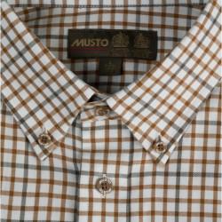 Musto-Classic button down shirt - Keldy Tabac