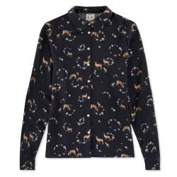 Musto-Country pattern shirt ladies - Fallow deer