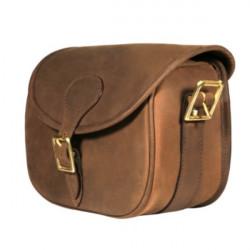 Teales Sporting Ltd-Devonshire leather 100 cartridge bag
