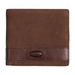 Dubarry-Drummin leather wallet with coin holder - Walnut