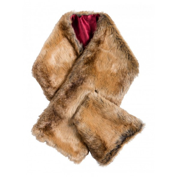 Dubarry-Altamont scarf - Chinchilla