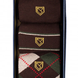 Dubarry-Kinnitty socks 3 pack - Brown