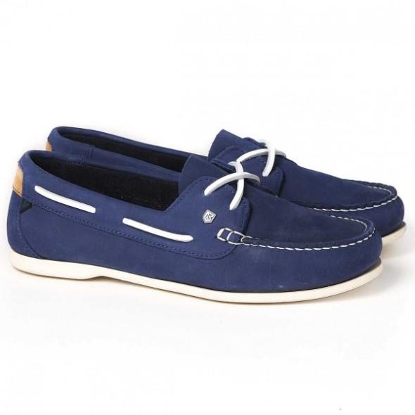Dubarry-Aruba two-eyelet deck shoe- Royal blue