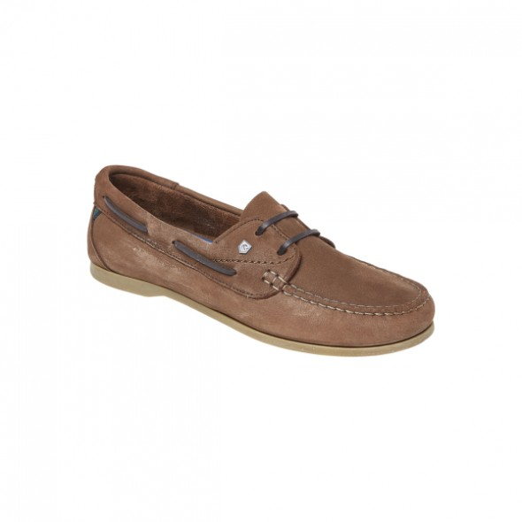 NEW Dubarry Aruba ladies lace up deck shoe - Cafe