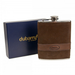 Dubarry-Rugby Hip flask leather bound hip flask