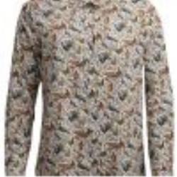 Barbour-Elenanor Shirt Cloud Gamebird Print