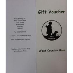 WCG-Gift Voucher - £    Please Select Denomination