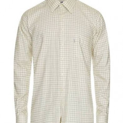 Barbour-Balfron cotton check shirt Green/brown