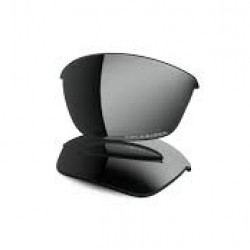 Oakley-Half Jacket Black Irid Polarized replacement lense