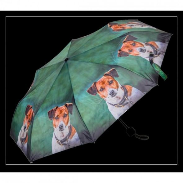 Country Matters-Umbrella folding - Jack Russell