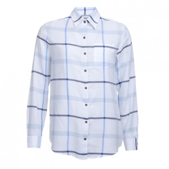 Barbour-Oxer shirt - Blue