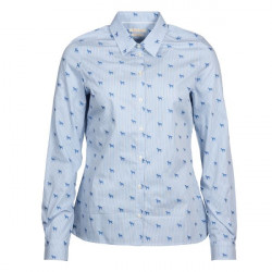 Barbour-Hampton Shirt Pale Blue