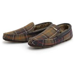Barbour-Monty Slipper Classic Tweed