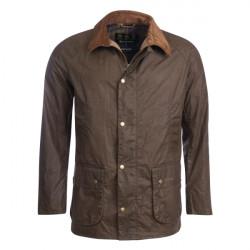 Barbour-Ashby lightweight wax jacket Dark Olive