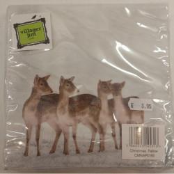 Country Matters-Napkins Christmas Fallow deer