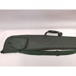 GMK-Shotgun Slip padded green with brown piping