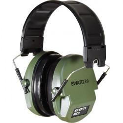 Swatcom-Slim passive folding ear muff -Green