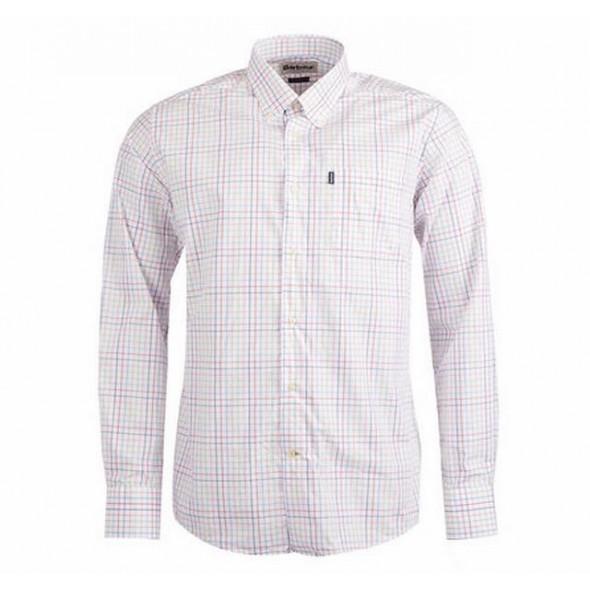 Barbour-Patrick pink shirt