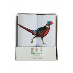 Barbour-Animal Hankies Pheasant