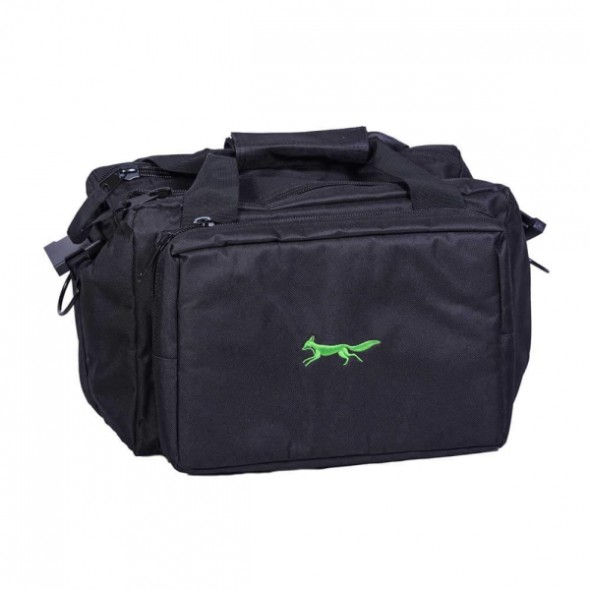 NEW Bonart: Range bag black/Lime logo