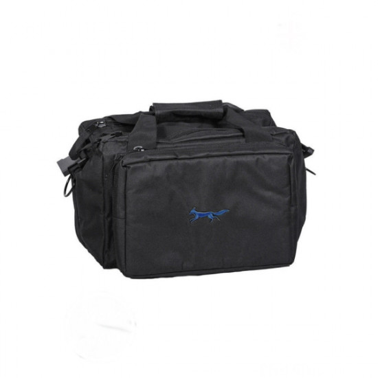 Bonart-Range bag black/Royal blue logo