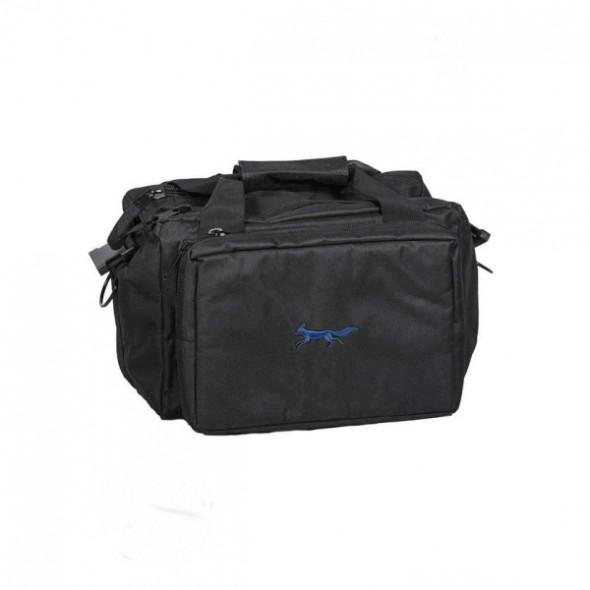 NEW Bonart: Range bag black/Royal blue logo