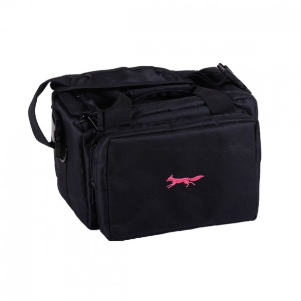 NEW Bonart: Range bag black/Pink logo